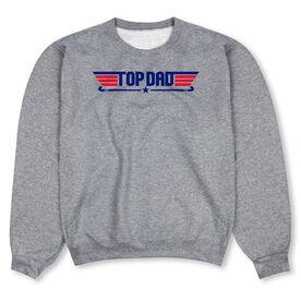 Field Hockey Crew Neck Sweatshirt - Top Dad Field Hockey