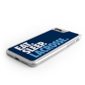 Lacrosse iPhone® Case - Eat. Sleep. Lacrosse.