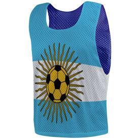 Soccer Pinnie - Argentina