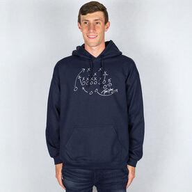 Football Hooded Sweatshirt - The Play