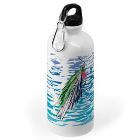 Fly Fishing 20 oz. Stainless Steel Water Bottle - Watercolor Deceiver