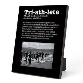 Triathlon Photo Frame - Triathlete Definition