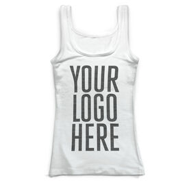 Running Vintage Fitted Tank Top - Your Logo