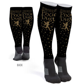 Running Printed Knee-High Socks - Powered By Pixie Dust