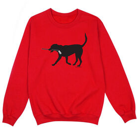 Hockey Crew Neck Sweatshirt - Howe the Hockey Dog