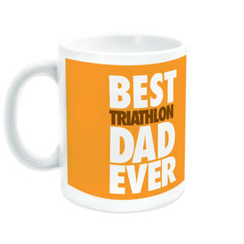Triathlon Coffee Mug Best Dad Ever