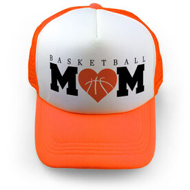 Basketball Trucker Hat Mom