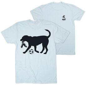 Soccer Short Sleeve T-Shirt - Spot The Soccer Dog (Logo Collection)