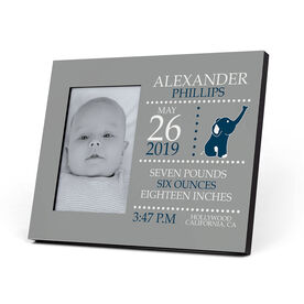 Personalized Photo Frame - Birth Announcement