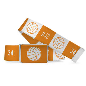 Volleyball Lifestyle  Belt Personalized Ball Pattern