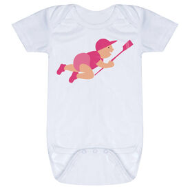 Crew Baby One-Piece - Crew Baby with Oar