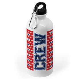 Crew 20 oz. Stainless Steel Water Bottle - Word With Oars