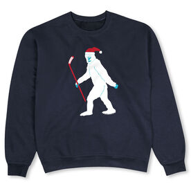 Hockey Crew Neck Sweatshirt - Abominable Snowman