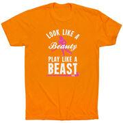 Field Hockey Tshirt Short Sleeve Look Like A Beauty Play Like A Beast
