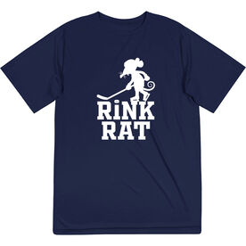 Hockey Short Sleeve Performance Tee - Rink Rat