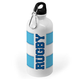 Rugby 20 oz. Stainless Steel Water Bottle - Word With Stripes