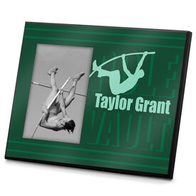 Track & Field Photo Frame Pole Vault Your Name
