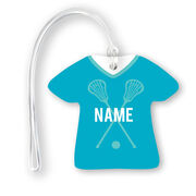 Girls Lacrosse Jersey Bag/Luggage Tag - Personalized Jersey with Name