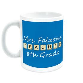 Teacher Coffee Mug - Teacher Tiles