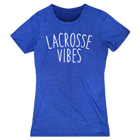 Girls Lacrosse Women's Everyday Tee - Lacrosse Vibes