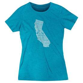 Women's Everyday Runners Tee California State Runner