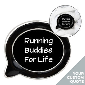 Running Shoelace Charm - Your Quote