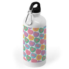 Running 20 oz. Stainless Steel Water Bottle - Candy Hearts