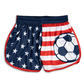 Patriotic Soccer Shorts