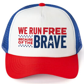 Running Trucker Hat - We Run Free