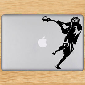 Removable Laptop Decal Overhand Shot Silhouette