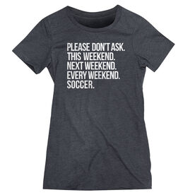 Soccer Women's Everyday Tee - All Weekend Soccer