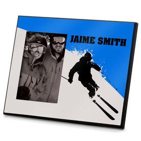Skiing Photo Frame Silo Ski