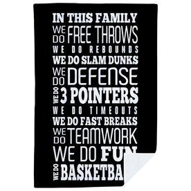 Basketball Premium Blanket - We Do Basketball