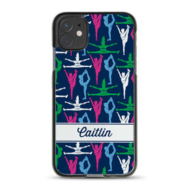 Cheerleading iPhone® Case - Personalized Cheer Girl Pattern