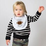 Football Baby Bib - Future Baller