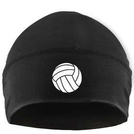 Beanie Performance Hat - Volleyball with Icon