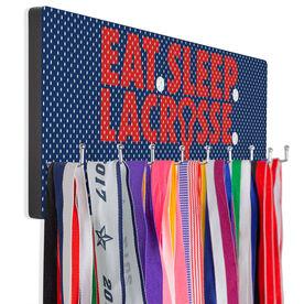 Guys Lacrosse Hooked on Medals Hanger - Eat Sleep Lacrosse Mesh