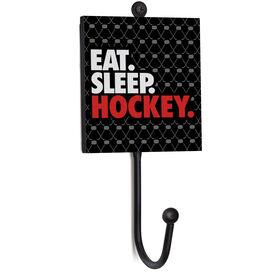 Hockey Medal Hook - Eat. Sleep. Hockey.