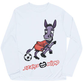 Seams Wild Soccer Long Sleeve Tech Tee - Mulekick
