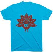 Football Short Sleeve T-Shirt - Turkey Player