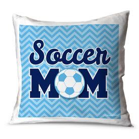 Soccer Throw Pillow Soccer Mom