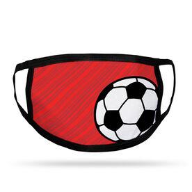 Soccer Adult Face Mask - Lightning Soccer
