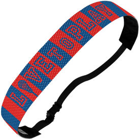 Girls Lacrosse Juliband No-Slip Headband - Love To Play