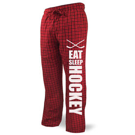 Hockey Lounge Pants Eat Sleep Hockey