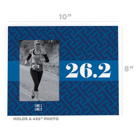 Running Photo Frame - Tread Pattern With Ribbon 26.2
