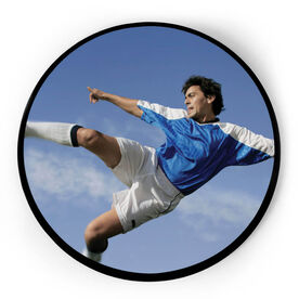 Soccer Circle Plaque - Custom Photo