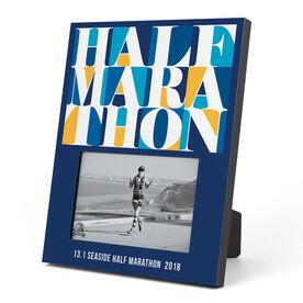 Running Photo Frame - Half Marathon Mosaic