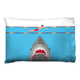 Swimming Pillowcase - Shark Attack (Guy Swimmer)