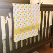 Personalized Baby Blanket - Ducks
