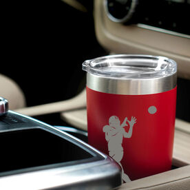 Football 20 oz. Double Insulated Tumbler - Receiver